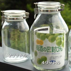 梅酒用のかわいい瓶