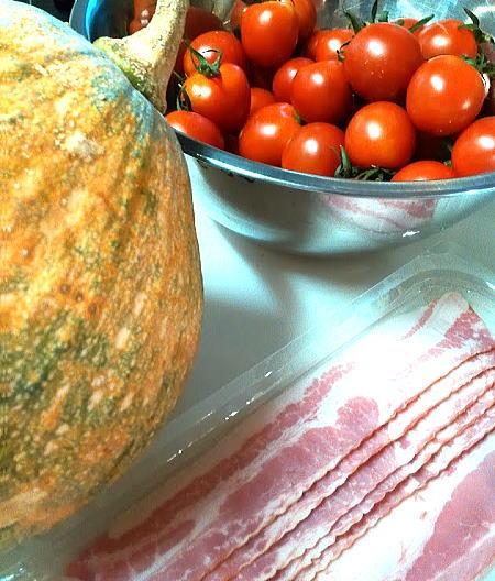 トマト鍋材料